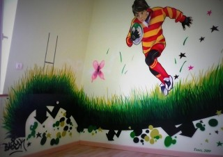 Chambre rugby 2009