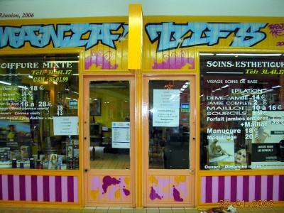Salon de coiffure – île de la Reunion – 2006