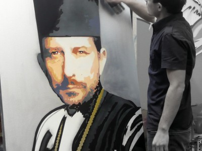 Portrait en cours