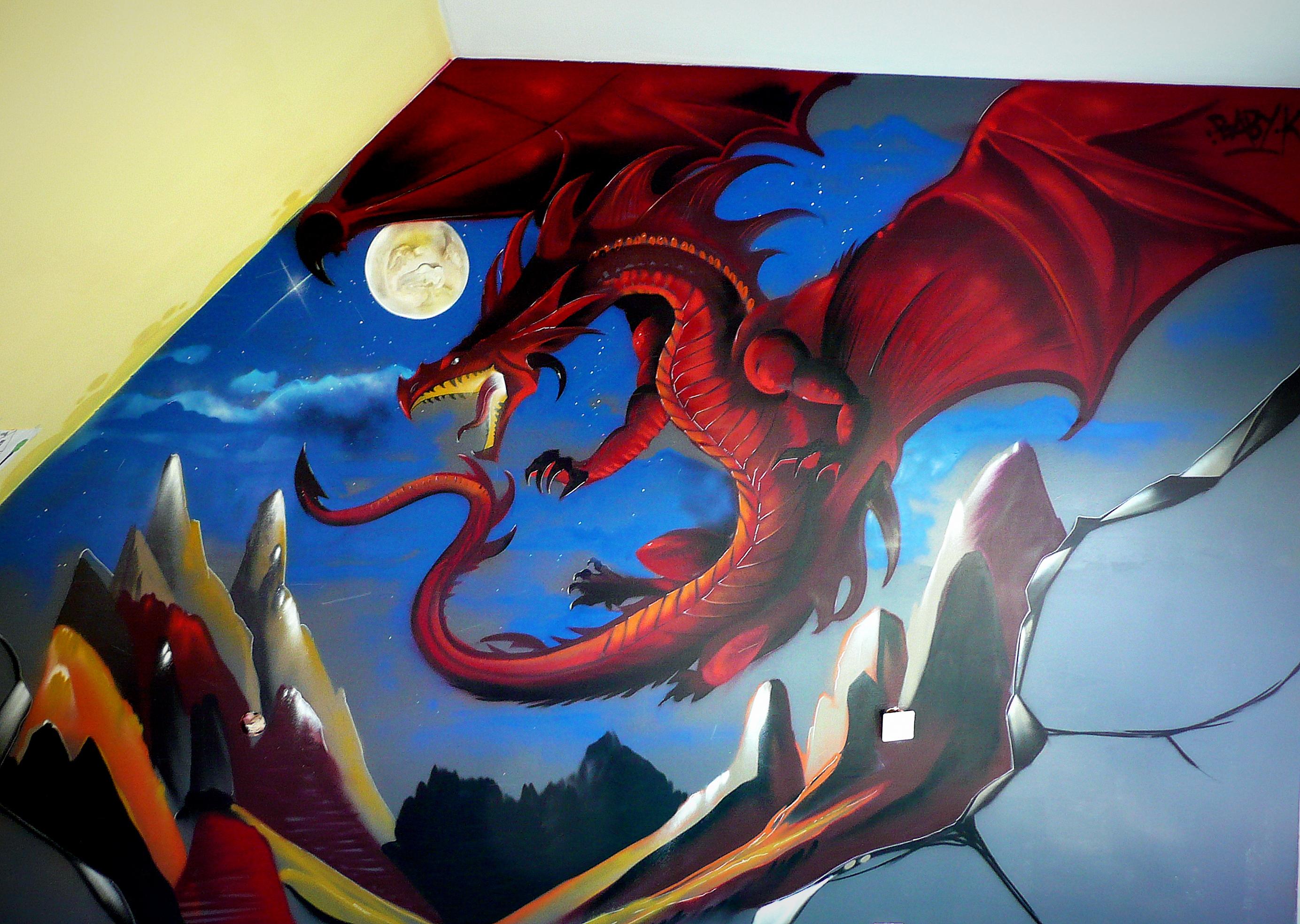 Chambre dragon  Baby k