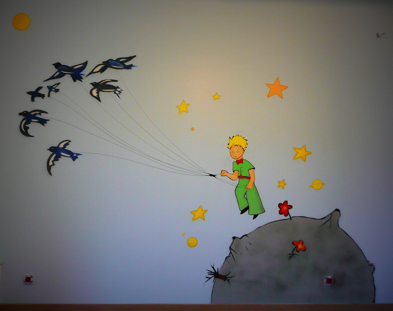 décoration chambre le petit prince