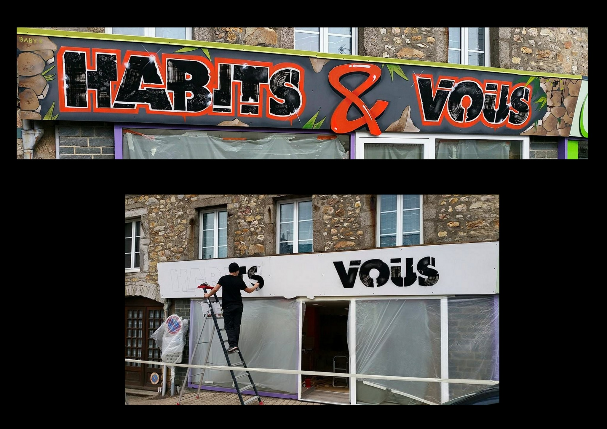 Enseigne HABITS & VOUS – 2015