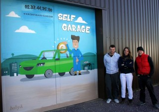 Garage self service -Cherbourg – avril 2015
