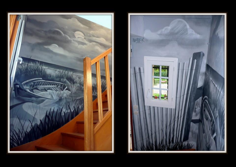 Cage d'escalier – 2014