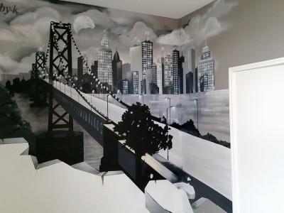 Chambre Ado thème NYC