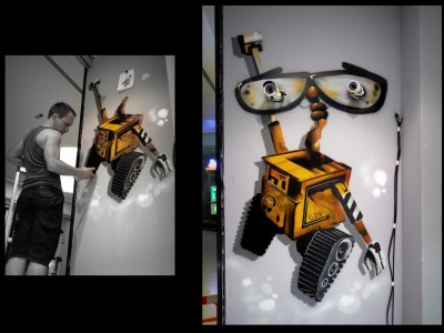 Wall-e – Magasin de jouets -2014