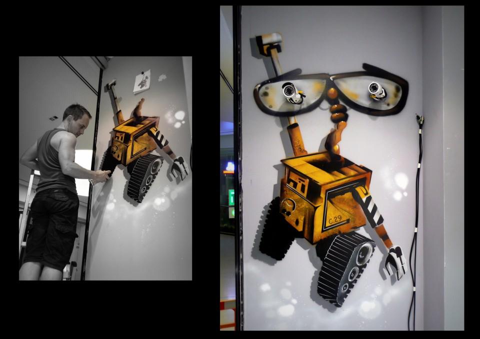 Wall-e - Magasin de jouets -2014