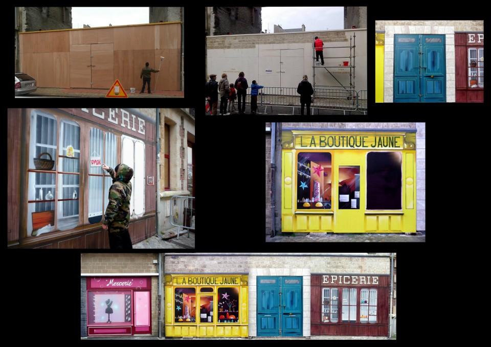 Trompe l'oeil- Cherbourg 2014