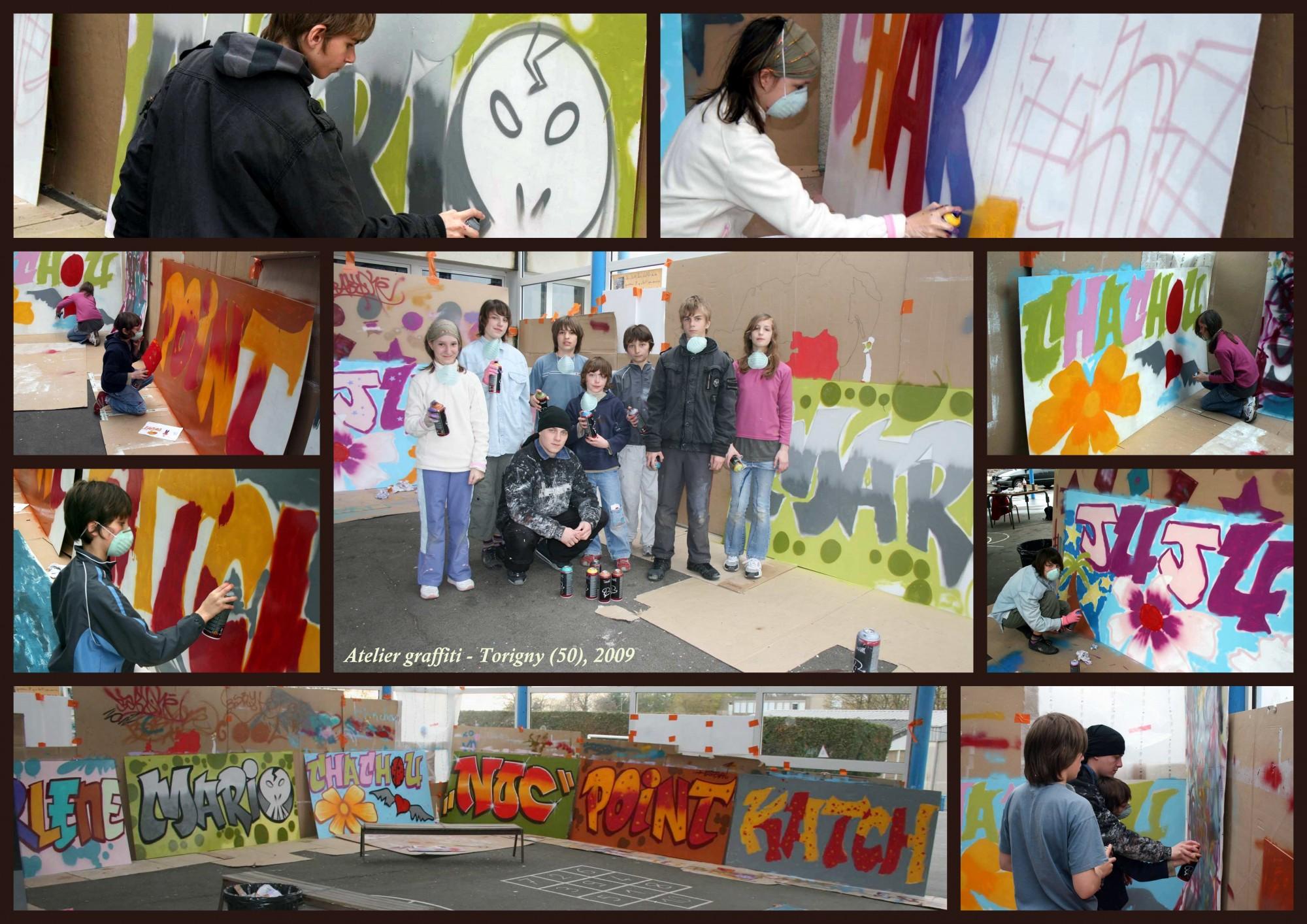 Atelier graffiti 2009