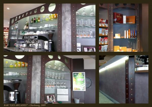 Bar «Les Arcades» – Cherbourg 2009