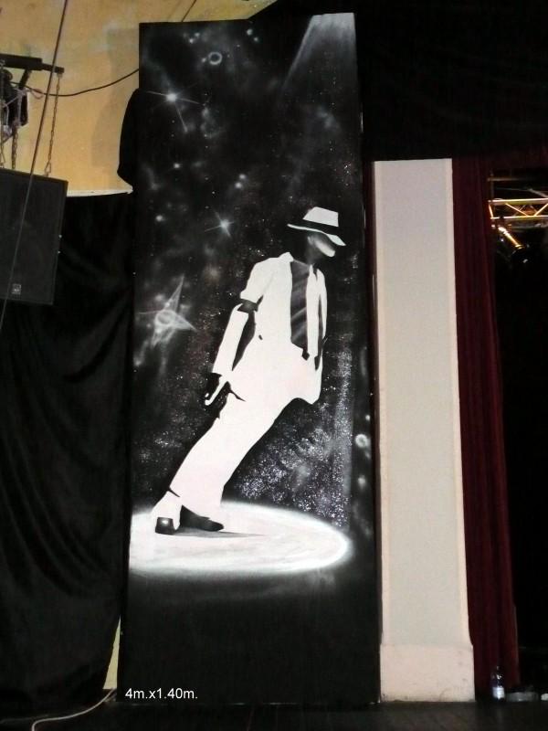 Scène Mickael Jackson