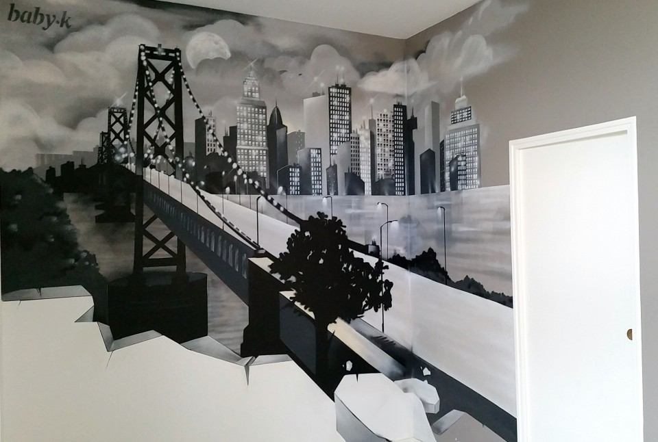 Graff pont de Brooklin - NYC