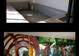 Décoration piscine intérieure – 2015