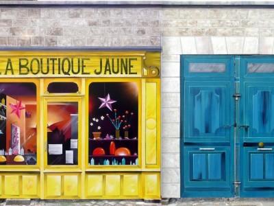 Trompe l'oeil (14m.x4m.) – Cherbourg 2014
