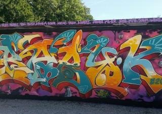 Graffitizm.Mantes la ville 2015